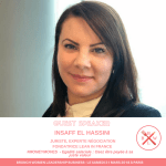 #GIRLBOSS : Insaff EL HASSINI, Experte Négociation, Juriste et Guest Speaker lors du BRUNCH WOMEN LEADERSHIP BUSINESS PARIS