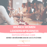 BRUNCH WOMEN LEADERSHIP BUSINESS – Edition Spéciale 2 ans