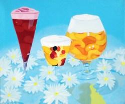 """""""Daisies,"""" oil on linen, 2013"""