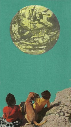 """""""Gazers,"""" collage, 2015"""