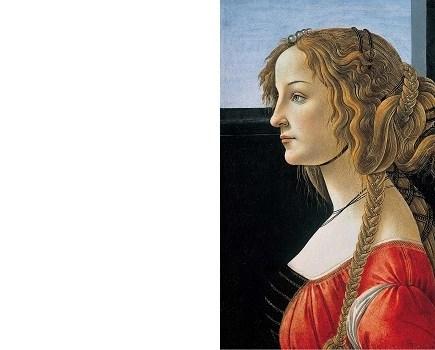 enseñando la pintura del Renacimiento