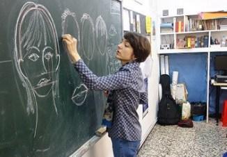 retrato en educacion primaria