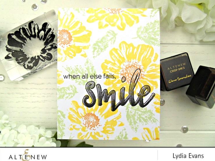 Lydia Evans- Altenew Daisy, Smile 2