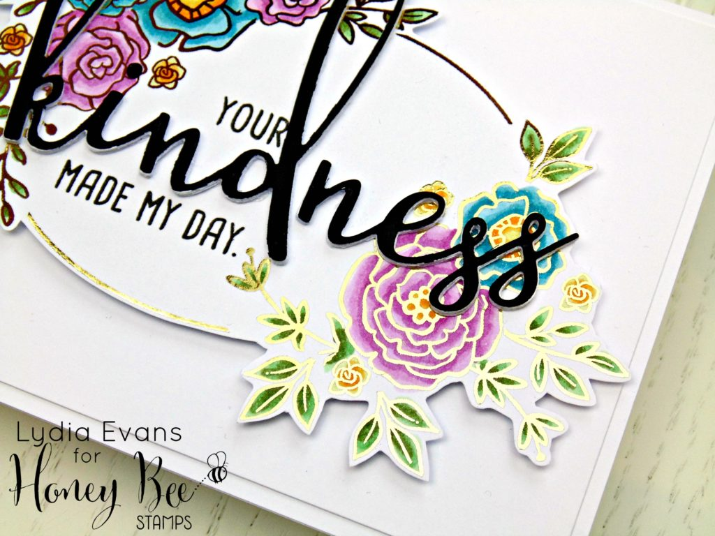Honey Bee Stamps Country Blooms, Kindness_2