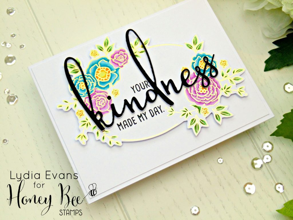 Honey Bee Stamps Country Blooms, Kindness_4