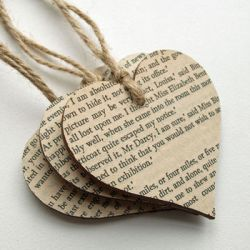 or add a page from your favourite book to decorate with!