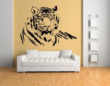Tiger vinyl wall sticker