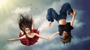 Lydia Kurnia digital artwork - Falling