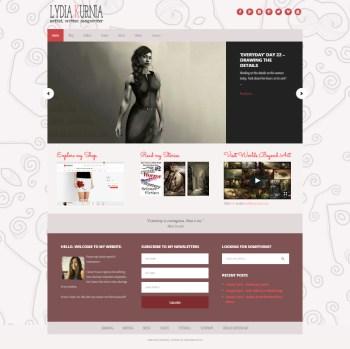 Lydia Kurnia website