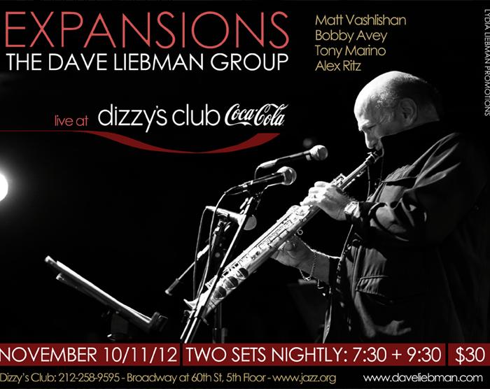 Dave Liebman Expansions 11/10/14