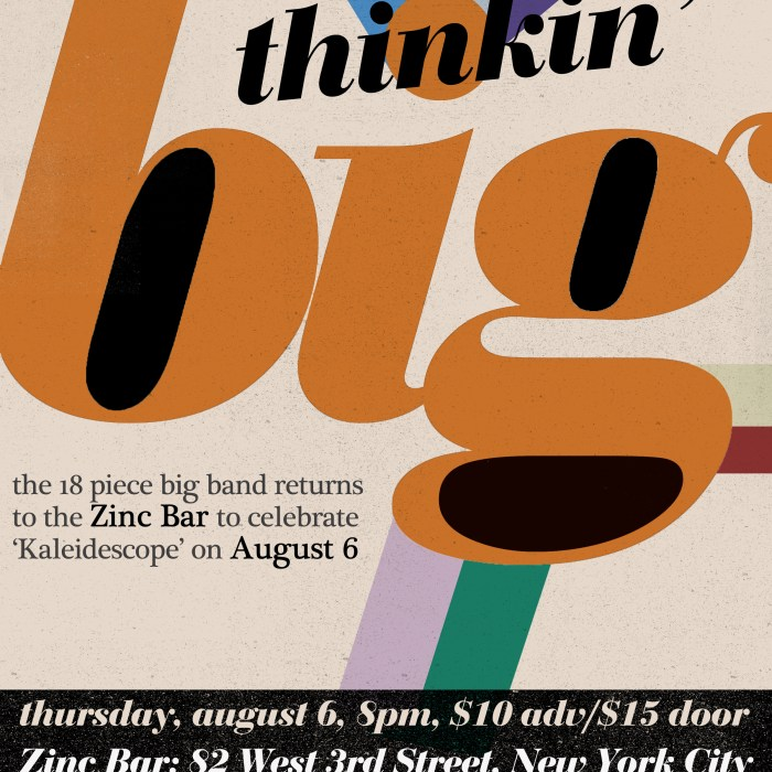 Thinkin Big 8/6/15