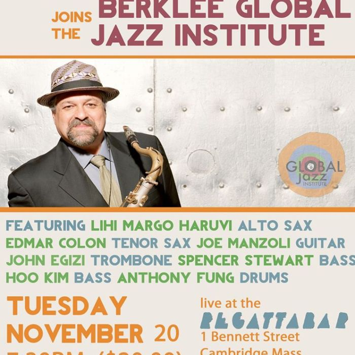 Joe Lovano & The BGJI 11/20/12