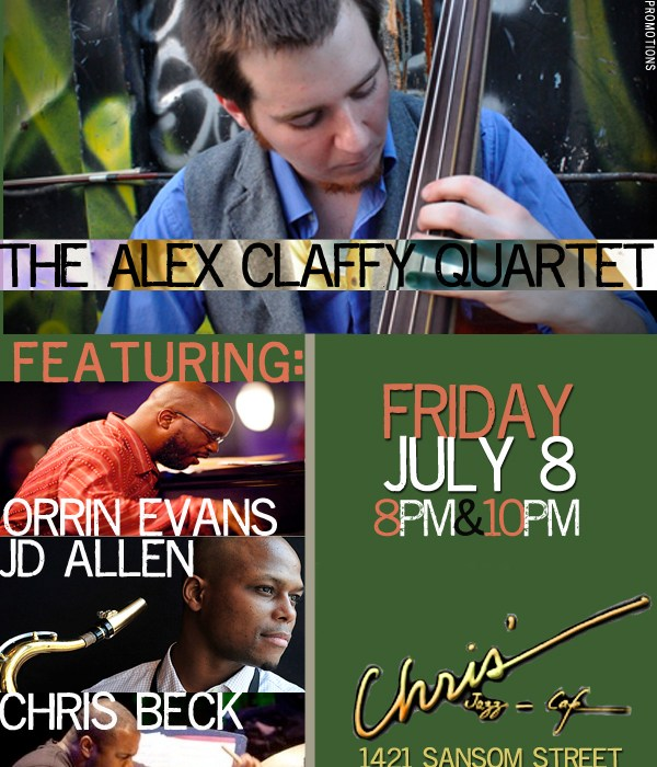 Alex Claffy Quartet 7/8/11