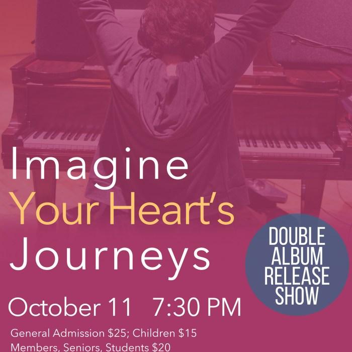 Imagine Your Heart's Journeys 10/11/15