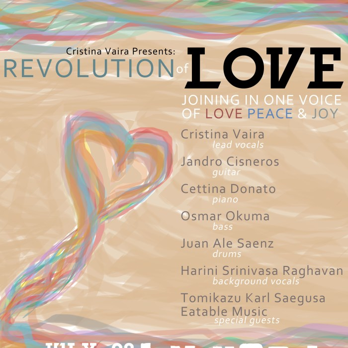Revolution of Love 7/28/2013