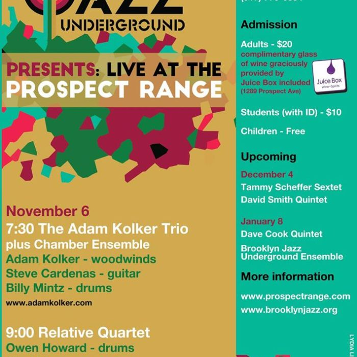 Brooklyn Jazz Undergound 11/6/2015