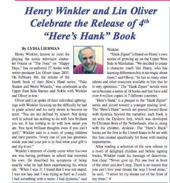 Henry WInkler MARCHAPRIL2015