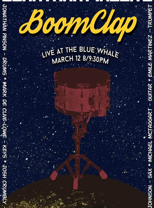 Jonathan Pinson's BoomClap, 3/12/15