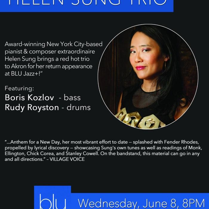 Helen Sung Trio, BLU Jazz+, 6/8/16