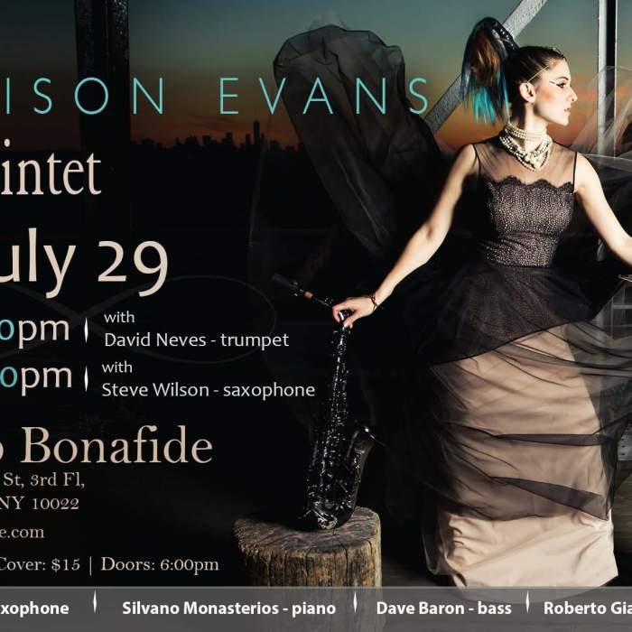 Adison Evans, Club Bonafide, 7/29
