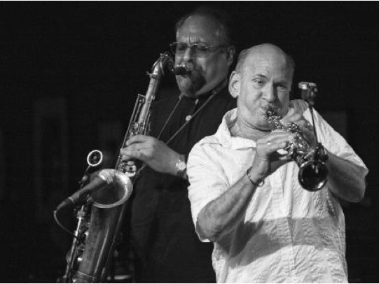"London Jazz News Reviews Dave Liebman & Joe Lovano's ""Compassion: The Music of John Coltrane"""