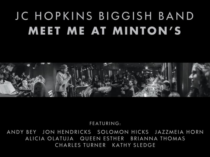 "Jazz da Gama Reviews JC Hopkins Biggish Band's ""Meet me at Minton's"""