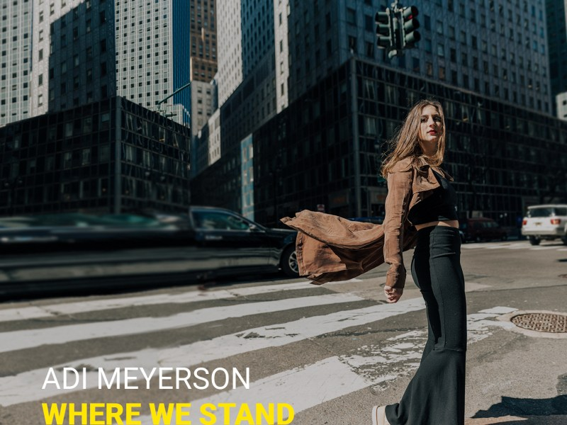 """Bass Musician Magazine Includes the Release of Adi Meyerson's """"Where We Stand"""""""