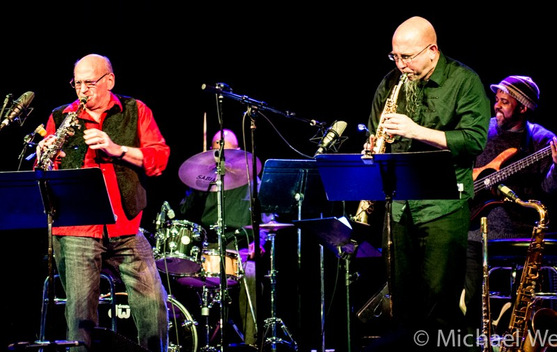 """REVIEW:Dave Liebman and Jeff Coffin's """"On the Corner Live!"""" Reviewed by Jazz Journal"""