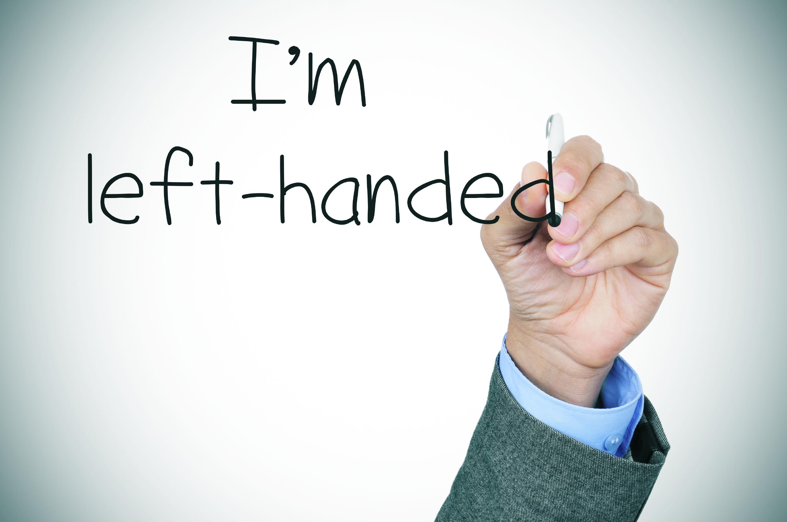 Left Handed Discrimination