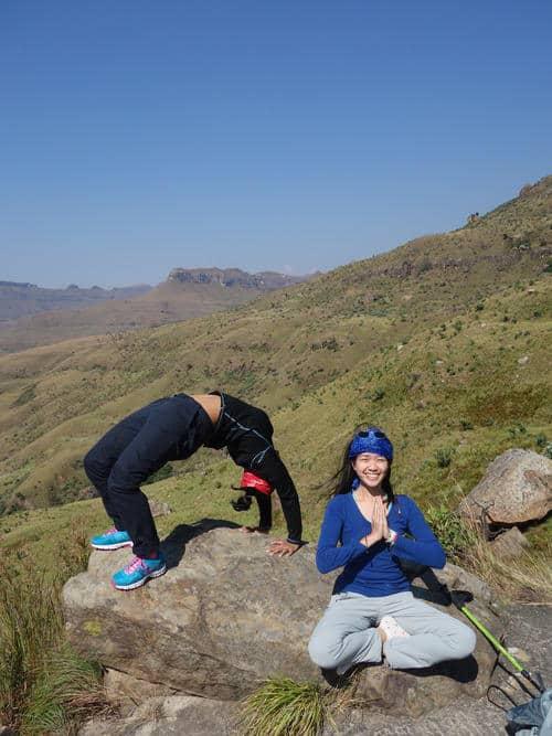 ' Yoga and Me' Shot ( Taken@Drakensburg, Johannesburg)