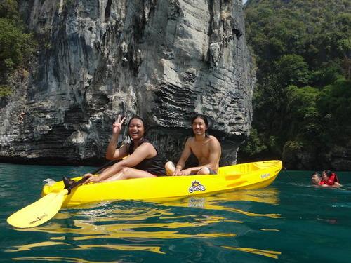 Kayaking in Krabi Thailand