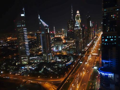 The Rich New Dubai - Stunning skyline with towering shiny buildings