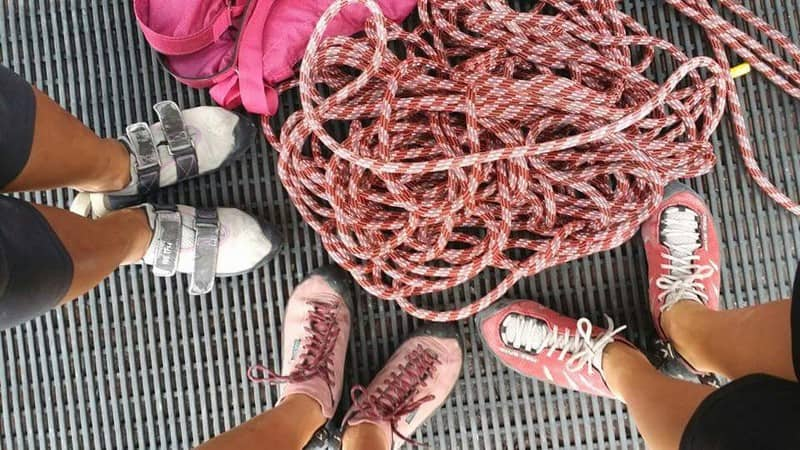 Rope, shoes and gear | rock gyms in singapore