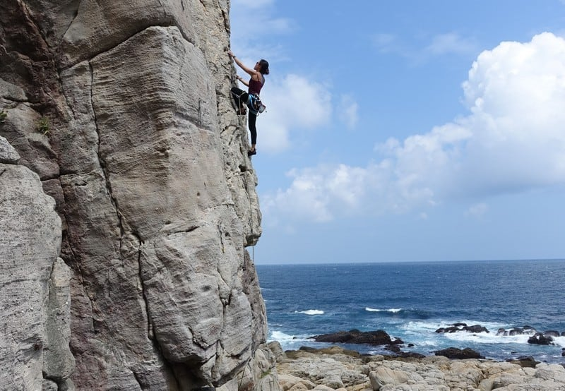 Overcoming your fear of heights and the outdoors when rock climbing