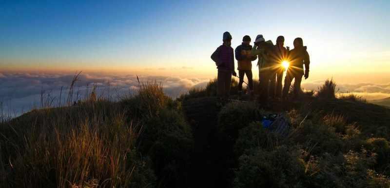 Philippines twin peaks of mount corderilla - trek for hope