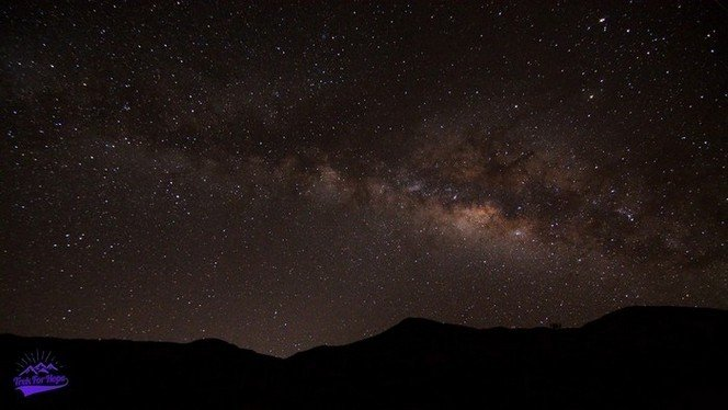 milky way captured on camera near mount pulag - trek for hope