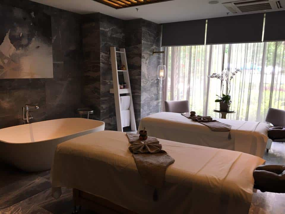 Iridium Spa in full luxury in the hotel ground floor. Love the deco and relaxing ambience.