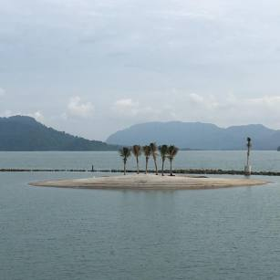 The little private island of St Regis Langkawi