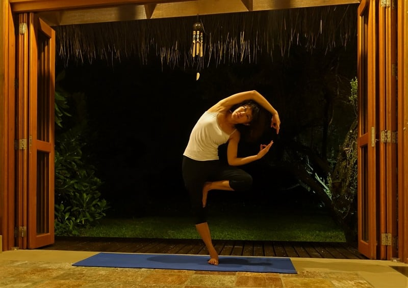 Yoga from dusk to dark
