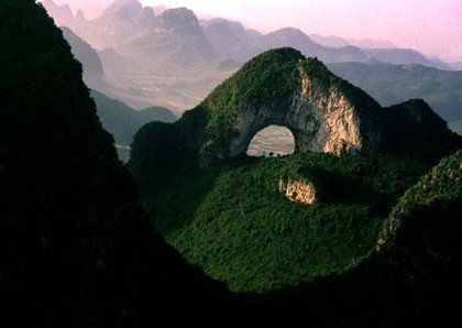 Stunning natural beauty of Yangshuo in China. Amazing rock climber's paradise. Photo credited to lycheetravel