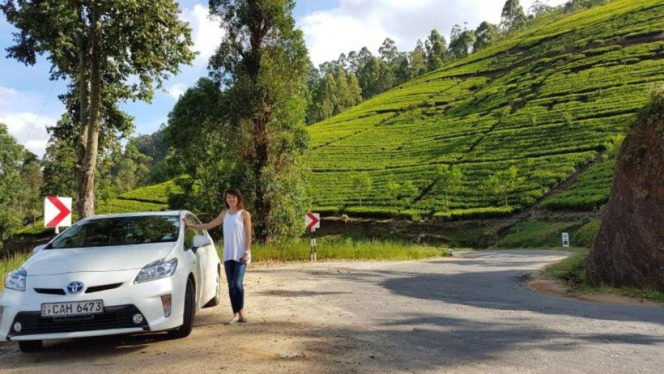 get a car and driver to get around sri lanka is the best option
