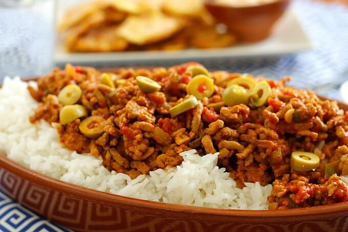 You don't need a box…try Picadillo