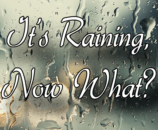 It's Raining, Now What? {C25K Challenge}