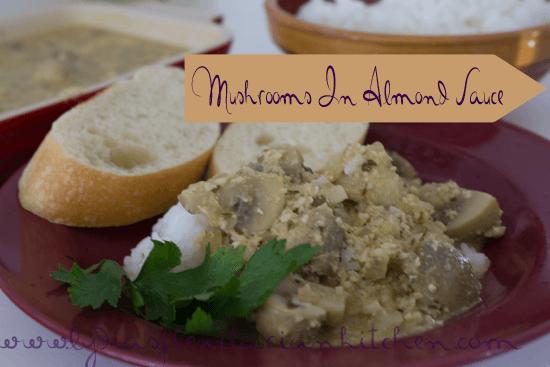 Tapas Tuesday: Mushrooms in Almond Sauce