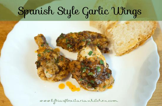 Tapas Tuesday: Garlic Wings
