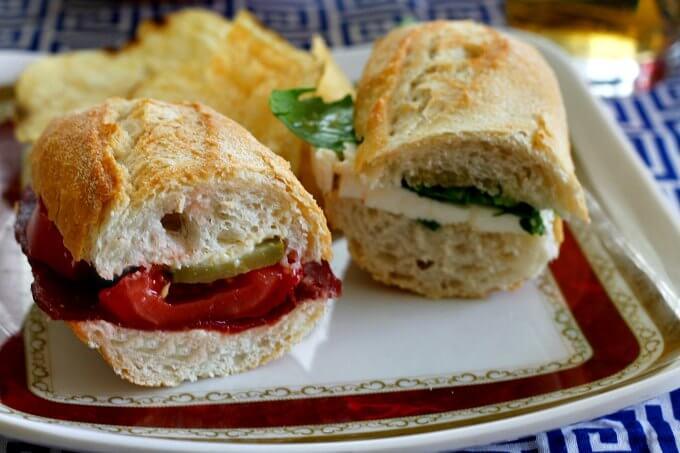 More sandwiches: A Couple of Bocadillos