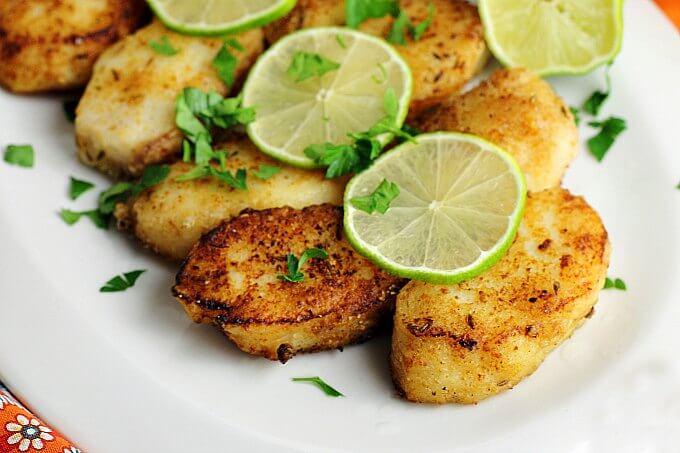 Thai Spiced Fish {#FoodOfTheWorld}
