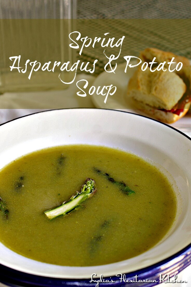 This is an amazing soup with a beautiful translucent broth and a hint of lemon. It tastes like Spring!