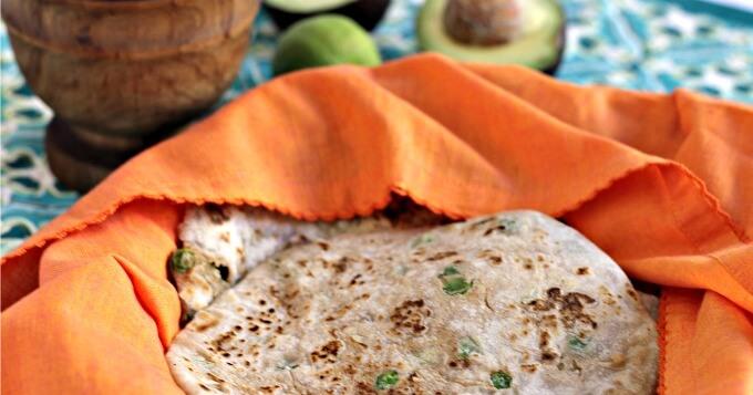Breadbasket Review Plus Pea and Potato Parathas