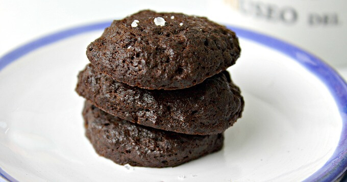 Rye And Chocolate Cookies